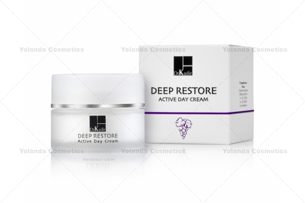 Crema hidratanta activa de zi cu SPF 15 - Deep Restore Active Day Cream - 50 ml