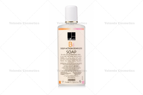 Sapun - gel de curatare pentru acnee - B3 Deep Action Soapless Soap - 250 ml