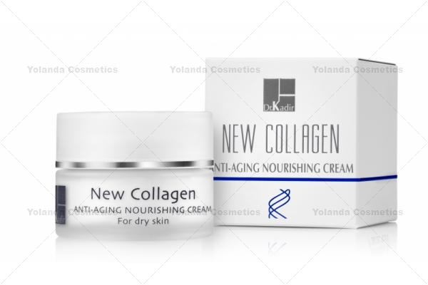 Crema hranitoare Anti-Aging pentru ten uscat - New Collagen Nourishing Cream for the dry skin