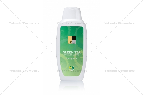 Scrub de dus fara sapun - Green Tea Shower Scrub - 300 ml