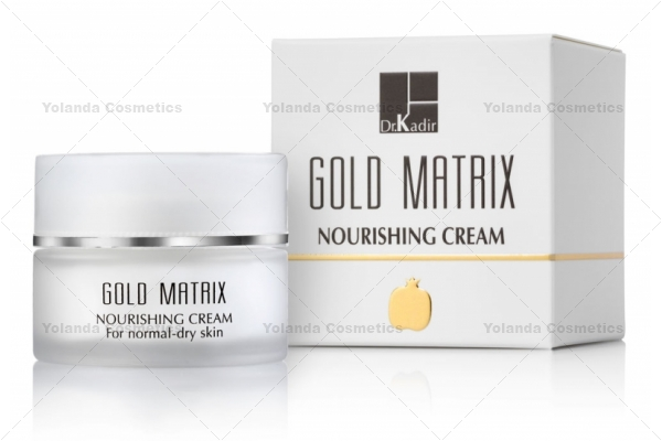 Crema hranitoare - Gold Matrix Nourishing Cream - 50 ml