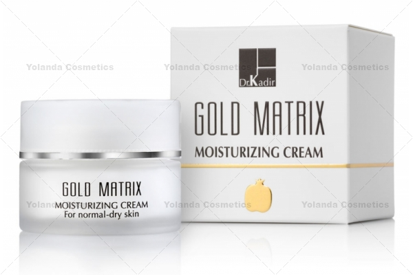 Crema hidratanta cu filtre solare - Gold Matrix Moisturizing Cream - 50 ml